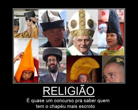 Religião: Concurso de chapéu