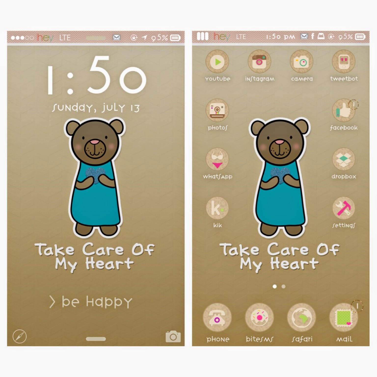 beary cute bear wallpaper | mommy lhey