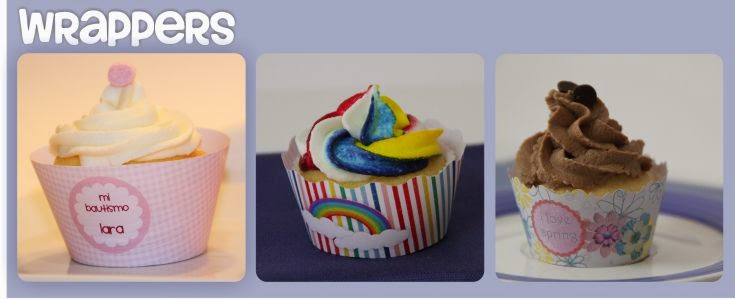 wrappers cupcake