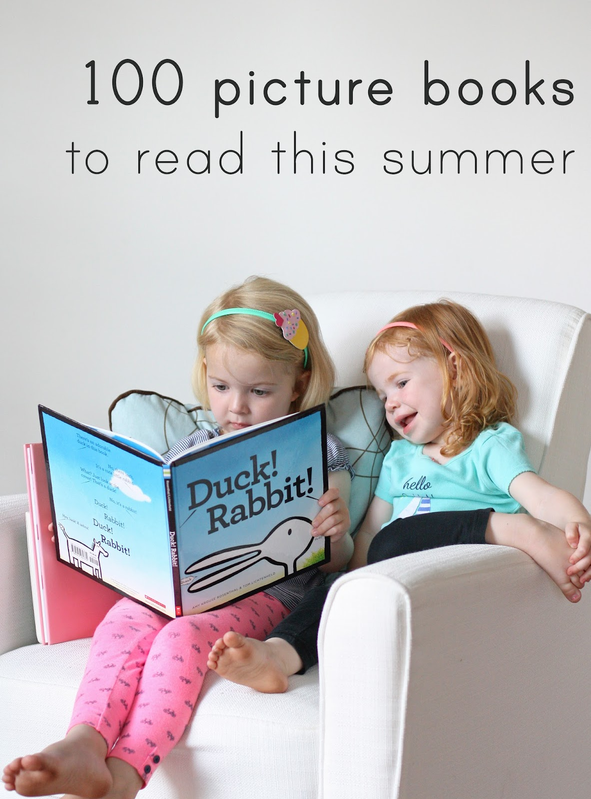 100 fantastic picture books to read with your kids this summer (plus a printable list!) from @everydayreading