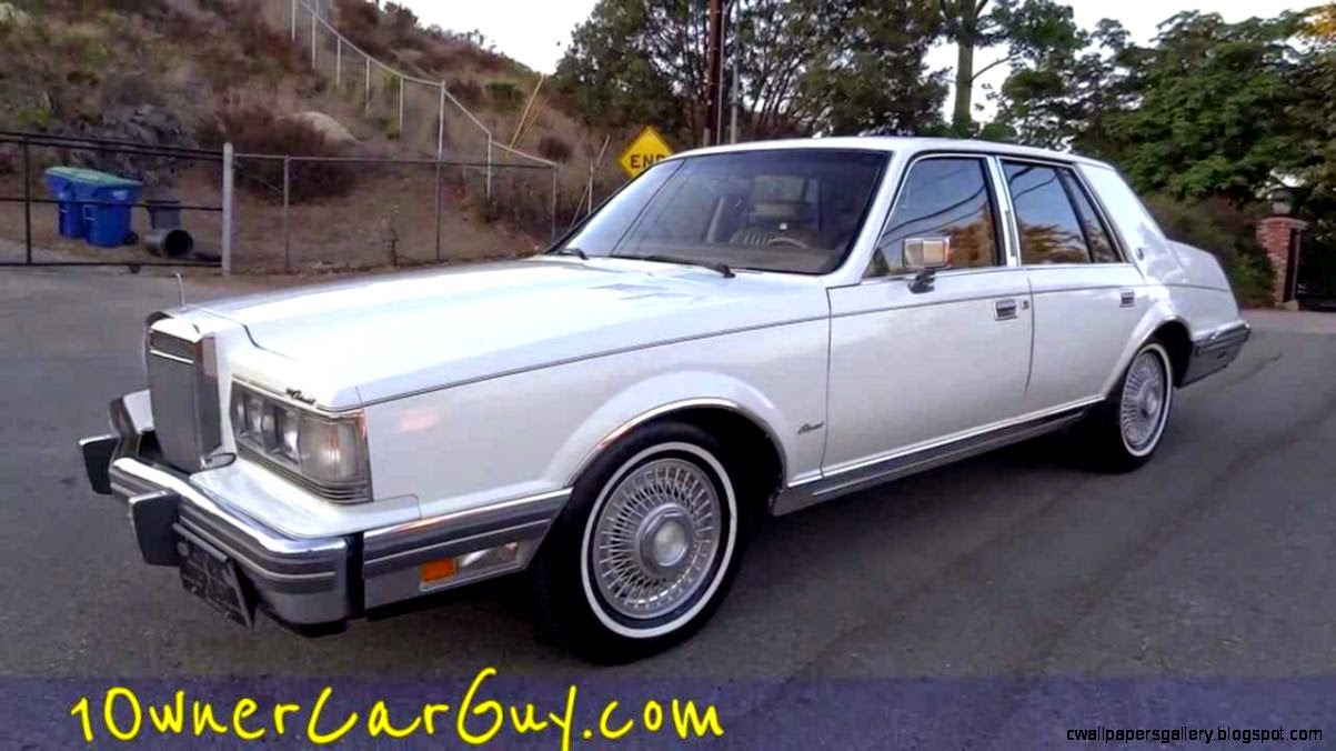 1982 Lincoln Continental Givenchy Signature V8 1 OWNER 61000 Mile