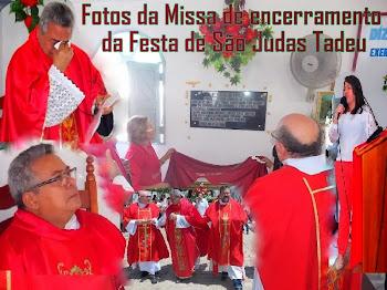 CONFIRA AS FOTOS DO ENCERRAMENTO DA FESTA DE SÃO JUDAS TADEU