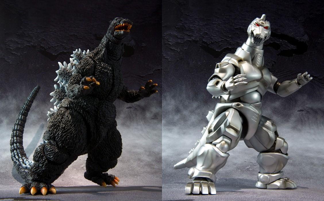 a comparison of the two movie characters godzilla and mechagodzilla