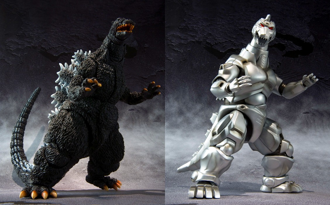 To check out more images  you can check out the SH MonsterArts    Godzilla Vs Mechagodzilla 2 Toys