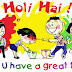 Great Time Holi Funny Greeting Card For Facebook Friends