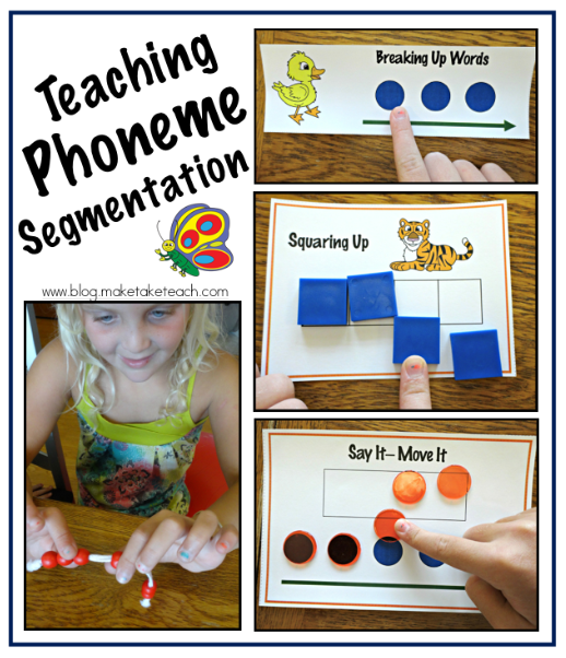 math worksheet : chalk talk a kindergarten blog : Phoneme Segmentation Worksheets Kindergarten