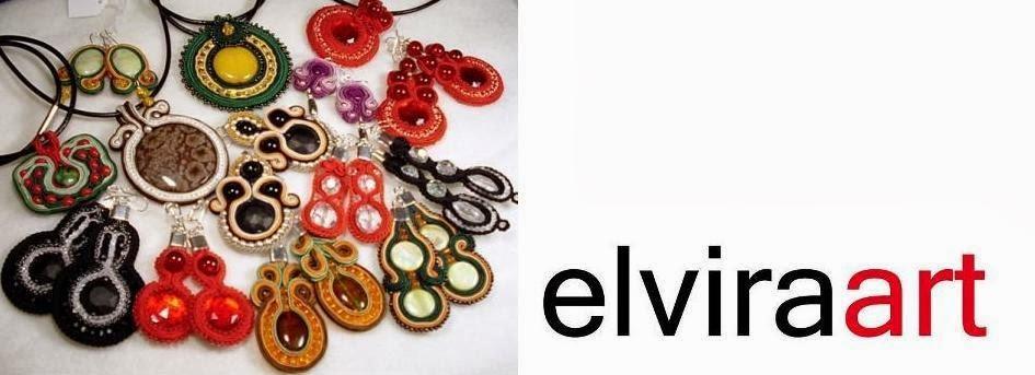 SUTASZ elviraart Biżuteria ręcznie haftowana