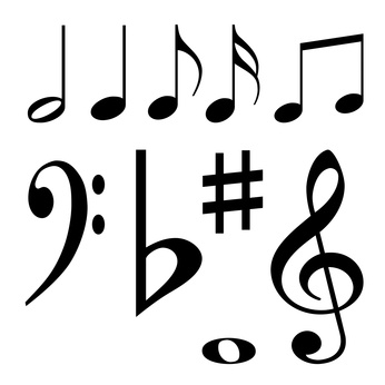 how to make a musical note symbol on facebook