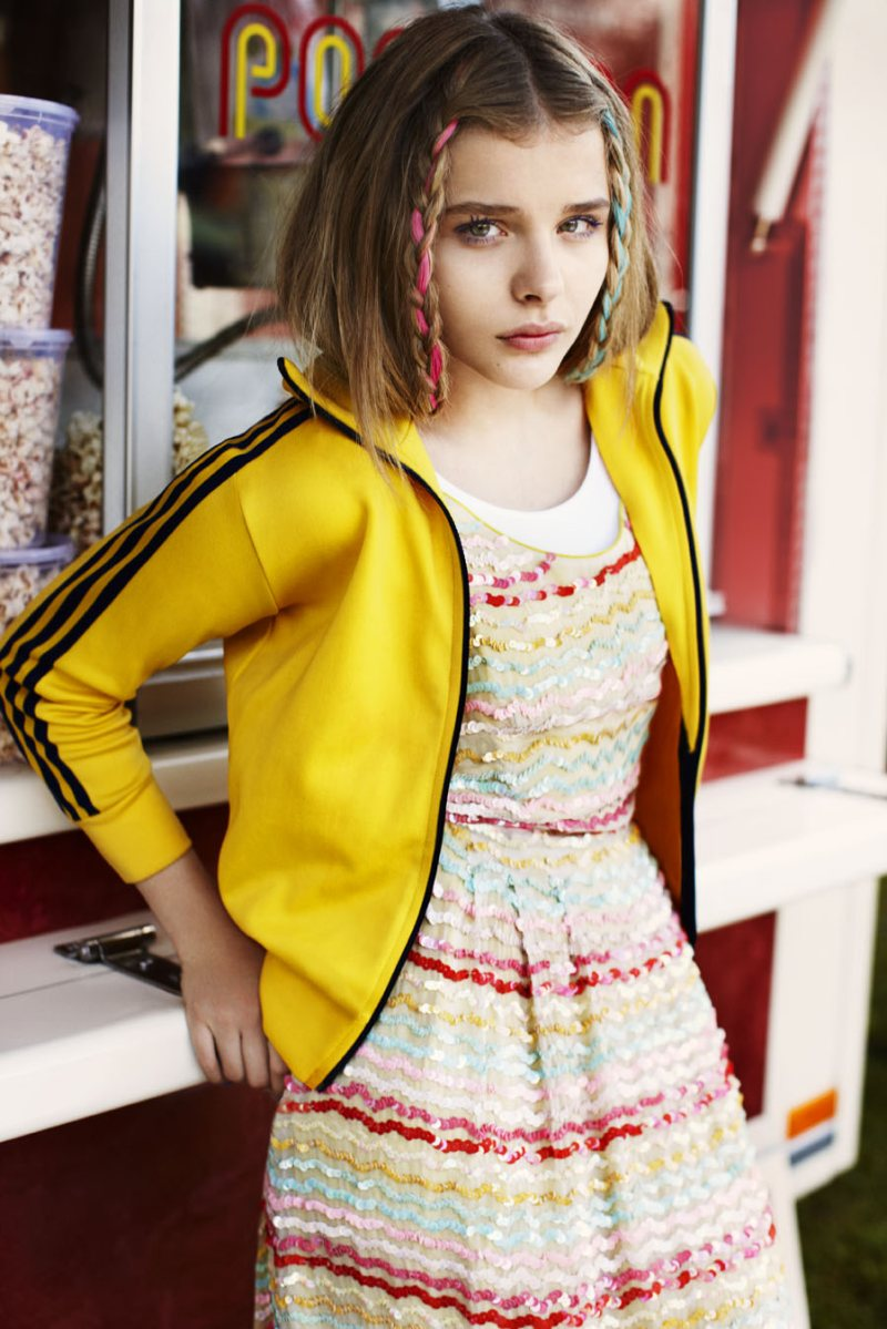 Editorials We Love: Chloe Moretz in ASOS Magazine