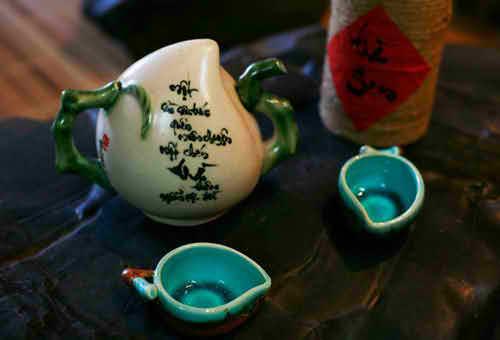 Dân dã, mộc mạc với Trà Quán - Thư pháp Quang Lĩnh, địa điểm ăn uống 365