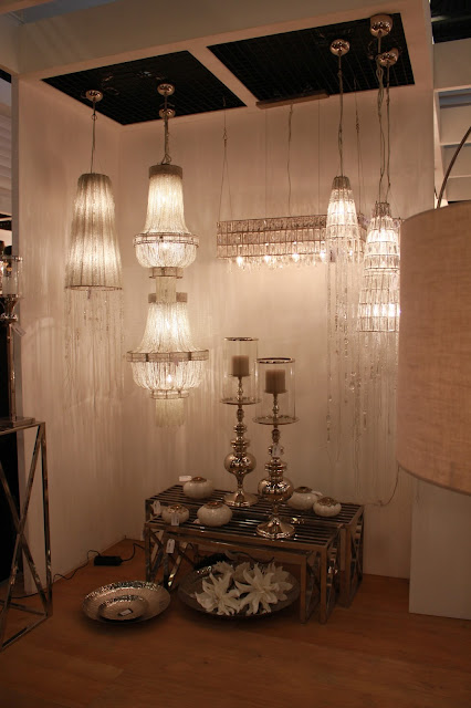 Crystal glass chandeliers