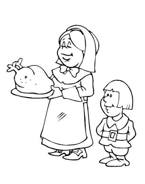 Cartoon Chicken Coloring Pages