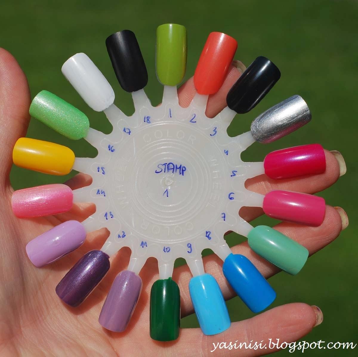 Stamping polishes / Lakiery stemplowe