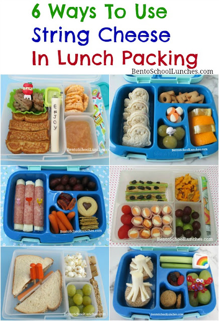 6 Ways To Use String Cheese In Lunch Packing