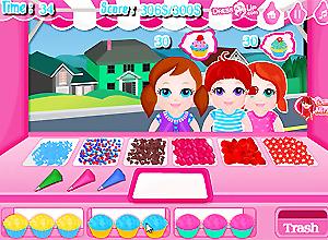 Kids Cupcake Bar