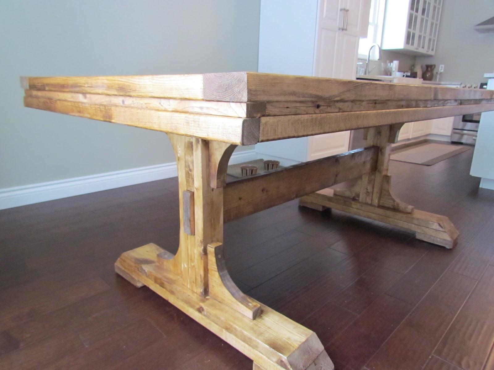 martha anne diy pedestal farmhouse table martha anne diy pedestal
