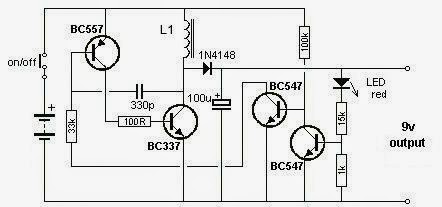 DC Converter Circuit Diagram