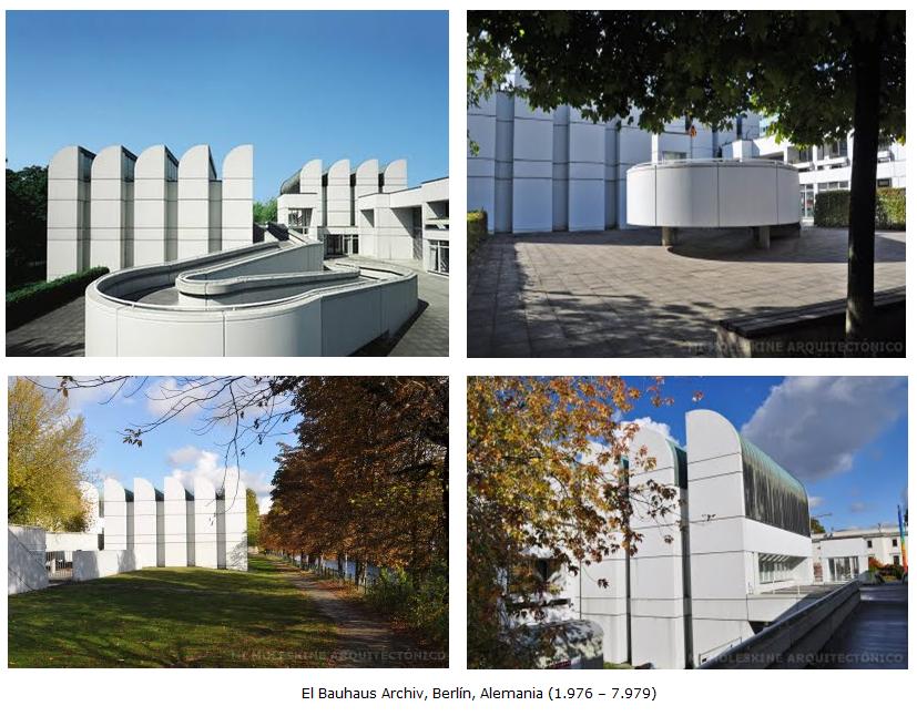Escuela De La Bauhaus 8 Bauhaus Archiv Museo
