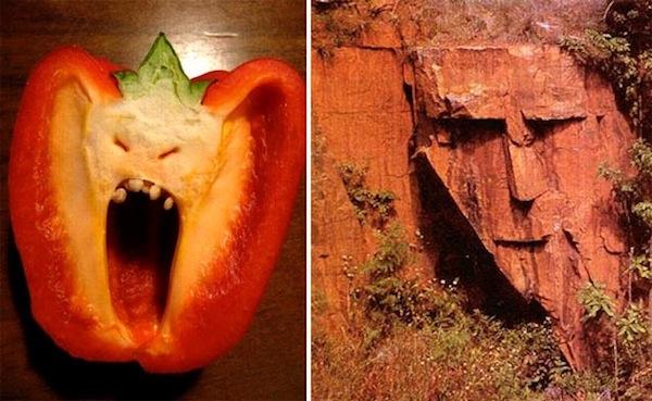 objek imej wajah manusia