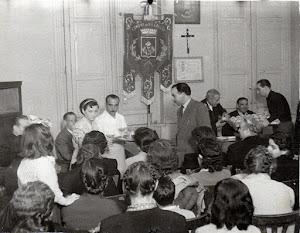 1951: Battesimo del Gonfalone del Comune