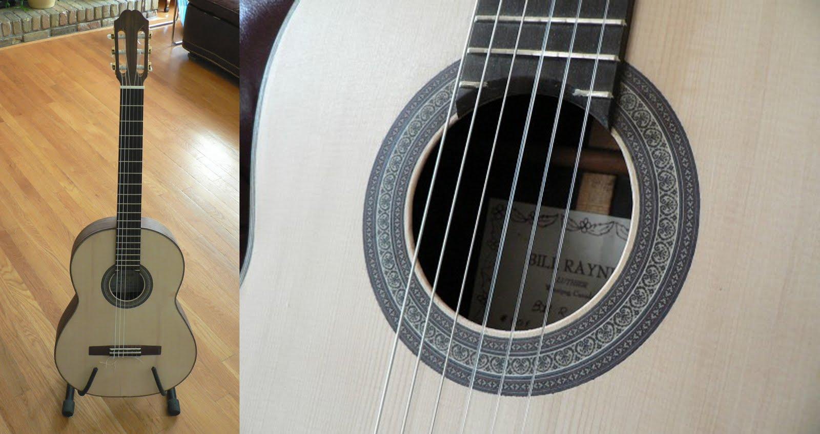Bill rayner luthier classical guitar ukulele - Cocobolo granada ...