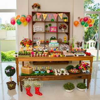 garden themed party