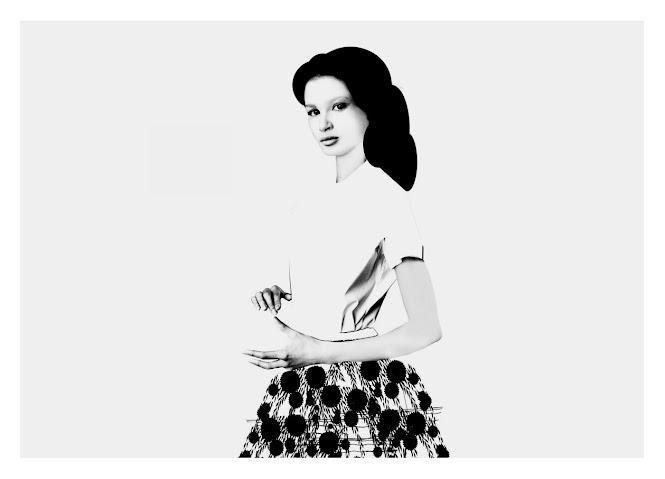 Mujer con falda