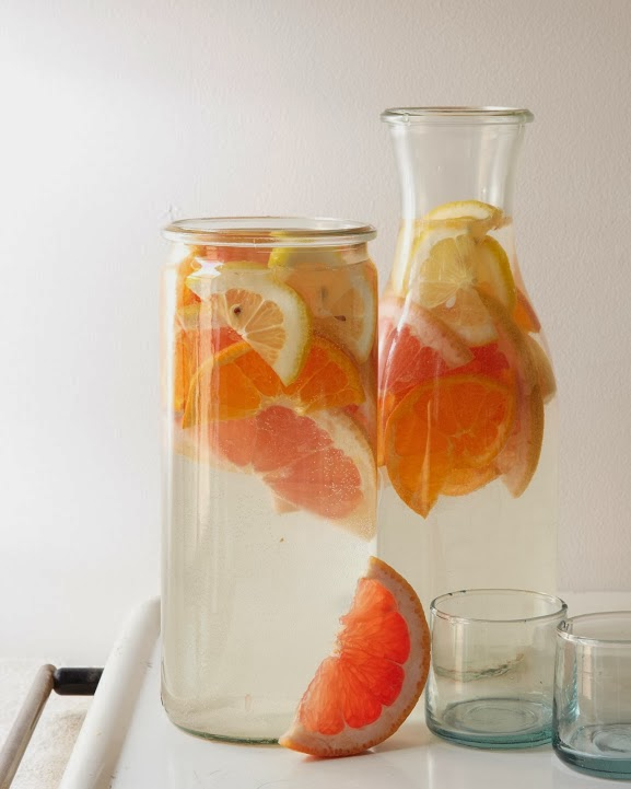 Infused Water on Darling Cashmere