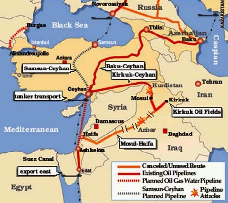Drilling Maps Iraq Pipelines Map The Big Picture Plans - Map of us troops on iraq and oil piplines