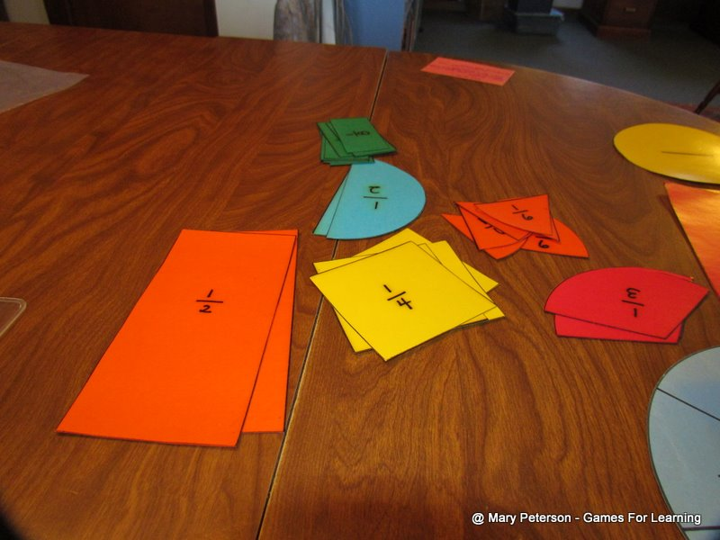 Fraction Pie Pieces The Fractional Pieces Have