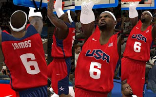 FIBA 2K12 Mod - Team USA Lebron James
