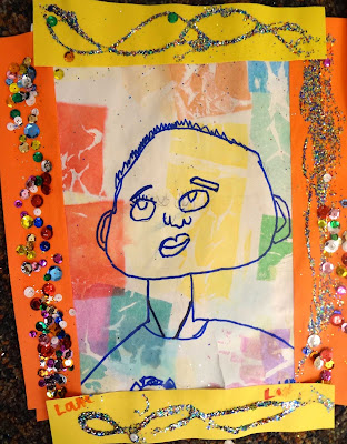 Kids Self Portrait Lesson
