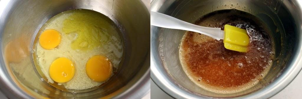 Steam Caramel Cake Step 2