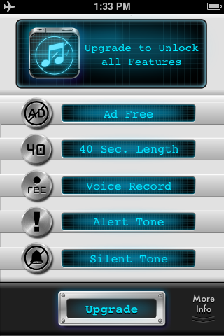Ringtone Maker FREE Plus Silent Sound iTunes App By By i-App Creation Co., Ltd. - FreeAppsKing.com