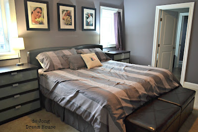 De jong dream house master bedroom reveal for 4 bedroom dream house