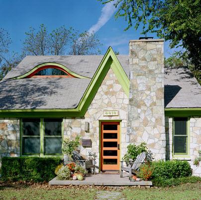 Fachadas de casas r sticas dise os y materiales - Colores de fachadas de casas rusticas ...