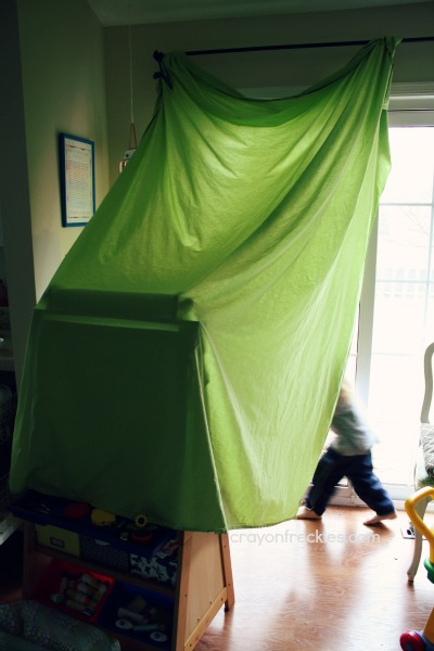 i think that one of the magical things about building forts with kids is that you start with chairs a table blankets etc and end up with a secret ... & Crayon Freckles: homemade forts and tents for kids