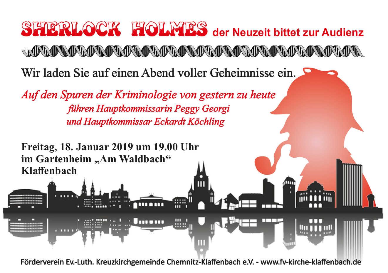 Sherlock Holmes in Klaffenbach