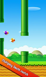 Screenshots of the Flappy bird 3D for Android tablet, phone.
