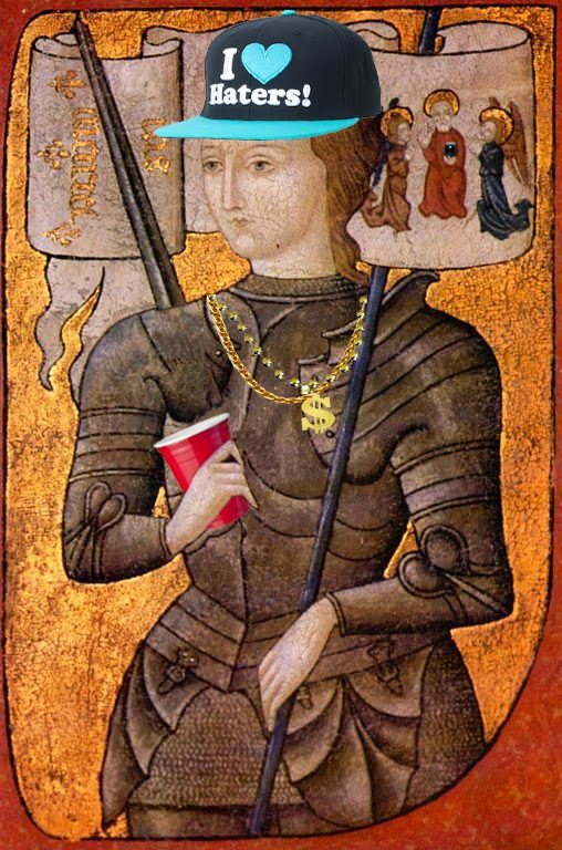 joan of arc is one party-hard martyr