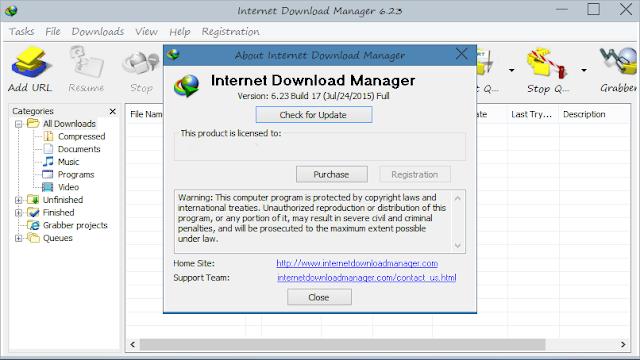 Internet Download Manager IDM v623 Build 15 Crack