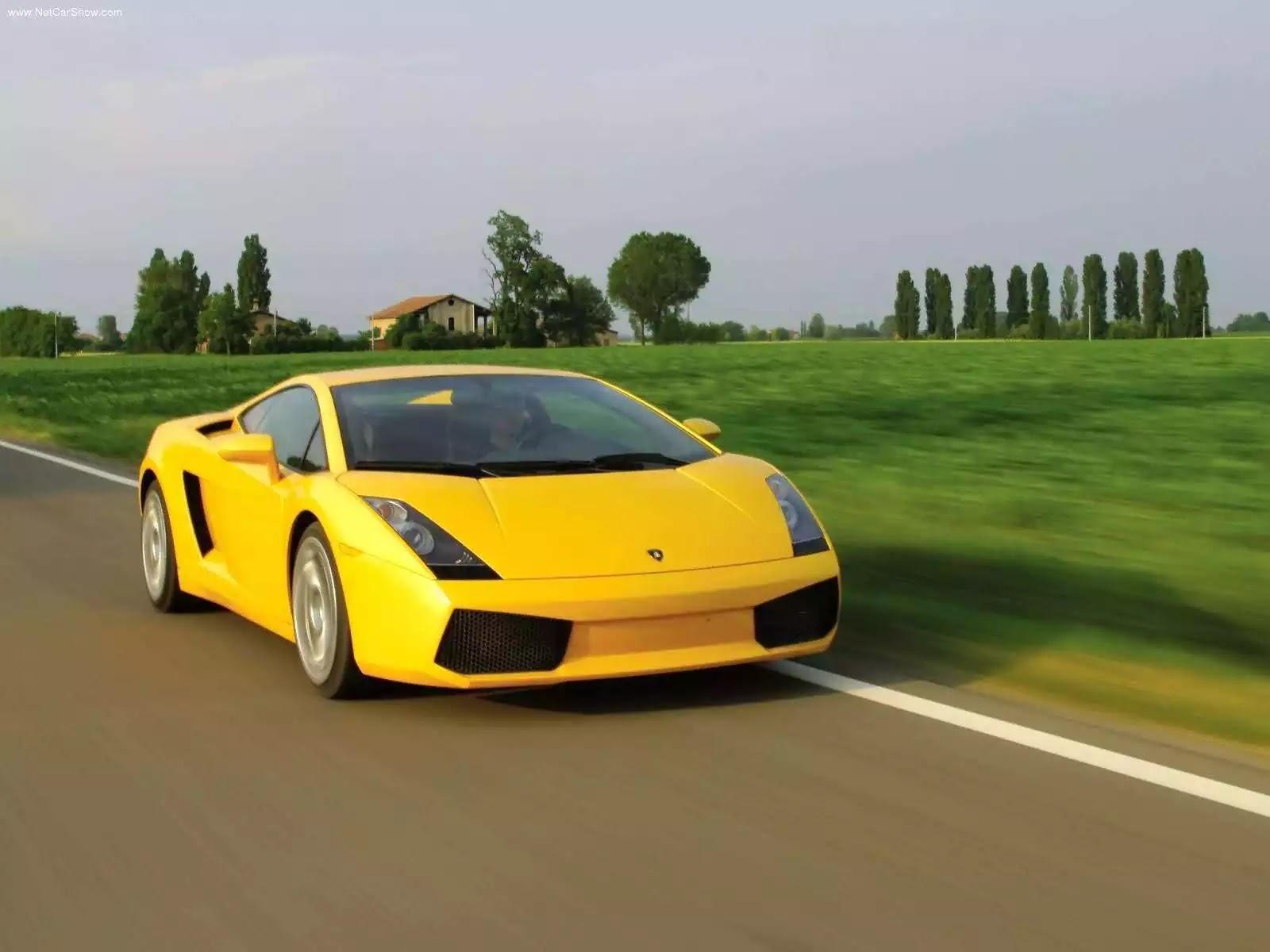 Hình ảnh siêu xe Lamborghini Gallardo 2003 & nội ngoại thất