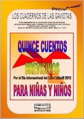 """""""Quince cuentos brevísimos para niñas y niños"""" (2012)"""