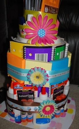My LDS Other Projects A Birthday Cake for a Teacher Supply Cake