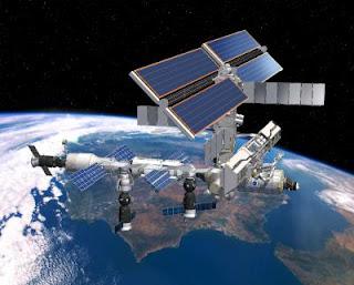 Pasos de la estación espacial