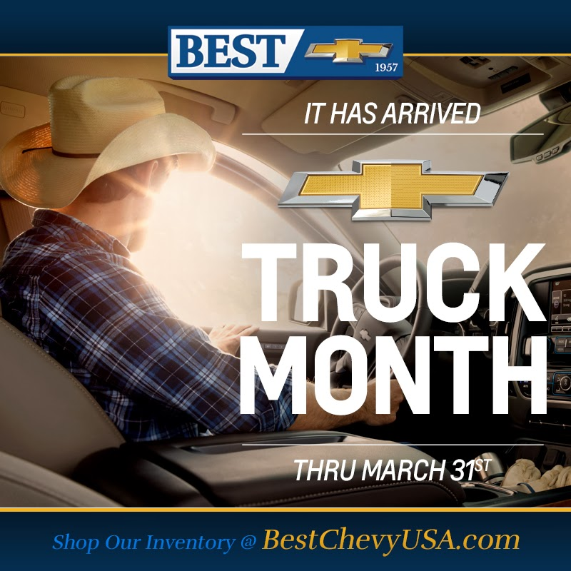 Chevy Truck Month is Back!