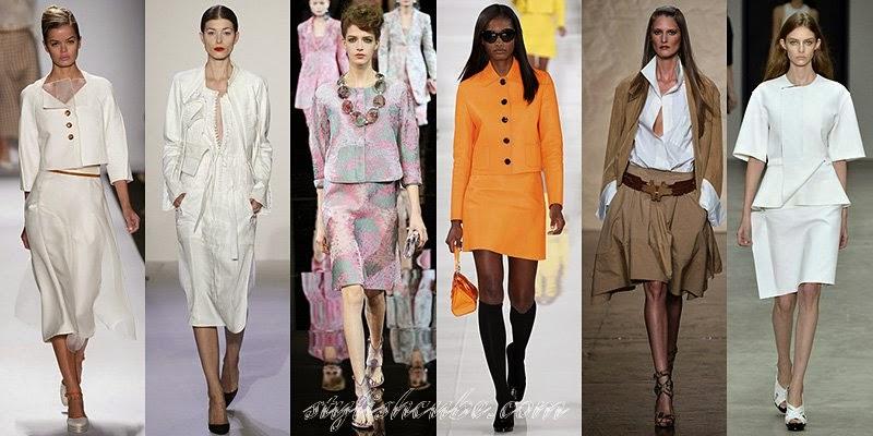 Spring Summer 2014 Women's Business Attire Fashion Trends