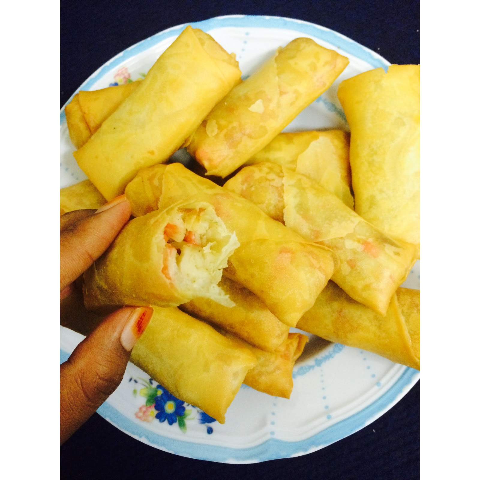Image Result For Resepi Popia Ayam Cheese Sedap