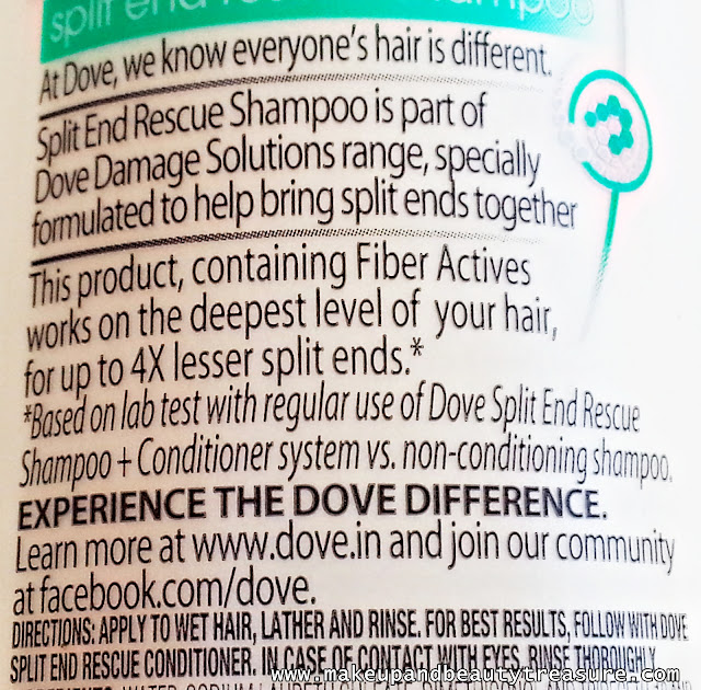 Dove-Split-End-Rescue-Shampoo-Review