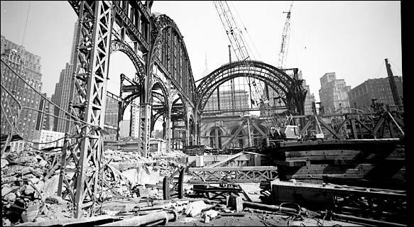 Penn central train station new york city zip